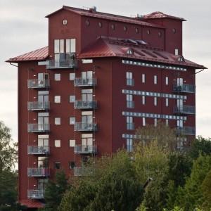 Det renoverade Asplundshuset i Eslöv
