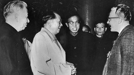 Jan Myrdal möter Mao Zedong