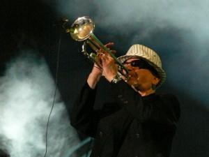 Tomasz Stanko i Kraków 2007. Foto: Tomek Broszkiewicz.