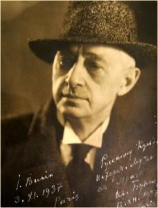 Ivan Bunin (född 1870 i Voronezj, död 1953 i Paris)
