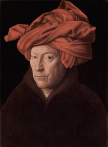 Självporträtt, Jan van Eyck