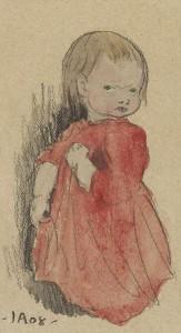 Ivar Arosenius: Lillan (1908).