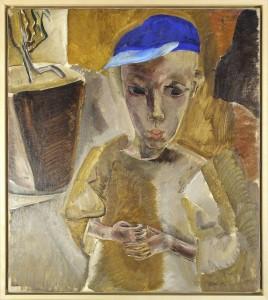 Pojke med blå mössa, Öland (1918). Foto: Jönköpings läns museum.