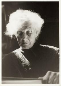 Vera Nilsson 1956. Foto: John Stridh.