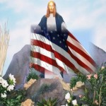 Jesus som amerikansk patriot