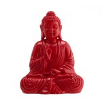 Zuo-Modern-Ada-Sitting-Buddha-Statue-in-Shiny-Red