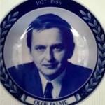 Olof Palme minnestallrik