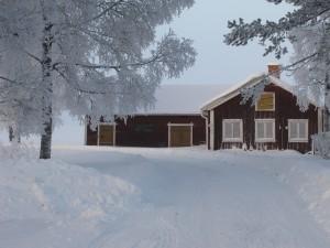 Stadra vinterscen vid sjön Grecken i Bergslagen mellan Nora och Grythyttan.