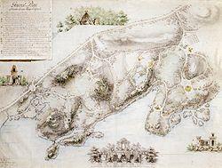 Pipers generalplan för Hagaparken