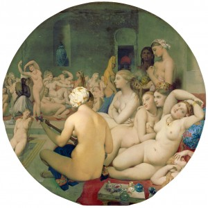 Ingres: Det turkiska badet (1862).