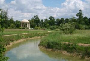 Engelska parken i Versailles