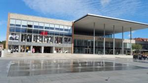 Kulturhuset i Neubrandenburg, från DDR-tiden