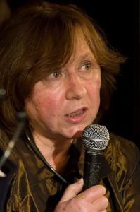 Svetlana Aleksijevitj. Foto:  Peter Groth 2011.