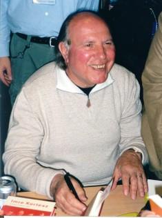 Imre Kertész. Foto: Sten Wistrand.