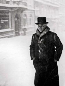 Strindberg i snöyra